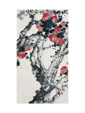 Flowers in Early Spring Giclee Print by Deng Jiafu