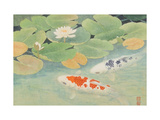 A Couple Under Lotus (II) Impression giclée par Chingkuen Chen