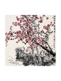 Plum Blossoms Giclee Print by Wanqi Zhang