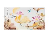 Autumn Lotus Giclée-Druck von Chi Wen