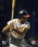 Frank Robinson - Batting Action Photo