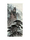 Mt. Huang No. 26 Giclee Print by Zishen Zhang