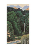 Tranquil Life in Mountains Giclee Print by Chingkuen Chen