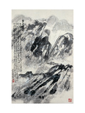 Travel in Winter Giclee Print by Deng Jiafu