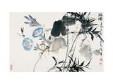 After Rain Giclee Print by Wanqi Zhang