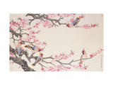 Singing Birds in Spring Lámina giclée por Hsi-Tsun Chang