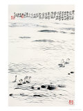 Business Sailboats Giclee Print by Deng Jiafu