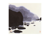 Rocky Brook Giclee Print by Chingkuen Chen