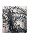 Phoenix Tree in the Wind Giclee Print by Deng Jiafu