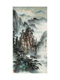 Mt. Huang No. 24 Giclee Print by Zishen Zhang