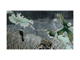 Bird and Rain Giclee Print by Hsi-Tsun Chang