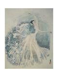 Classical Dancing Giclee Print by Yunlan He