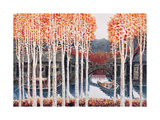 Autumn in Water Village Giclee Print by Chuankuei Hung