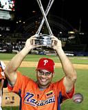 2005 Bob Abreu - All Star Game / Home Run Trophy Photo