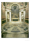 Interior View of the Octagonal Chigi Chapel, Begun by Raphael in 1513 Completed 1652 Giclee Print by Giovanni Lorenzo Bernini