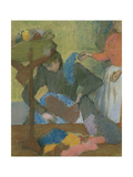 At the Milliner's, circa 1898 Giclee Print by Edgar Degas