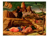 Agony in the Garden, C.1460 (Tempera on Panel) Premium Giclee Print by Andrea Mantegna
