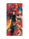 Chinese Opera Figures 3 Giclee Print by Wenbin Yuan