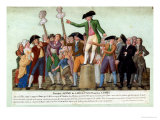 The Beginning of the French Revolution, 12 July 1789, Paris Giclee Print by Le Sueur Brothers