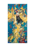 Chinese Opera Figures 1 Giclee Print by Wenbin Yuan