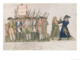 "The French Vow ""Long Live Freedom or Die"" Giclee Print by Le Sueur Brothers"