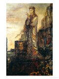 Helen on the Ramparts of Troy Giclée-Druck von Gustave Moreau