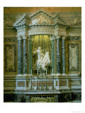 "The Cornaro Chapel,Detail of the Altar with ""The Ecstasy of St. Teresa"" Giclee Print by Giovanni Lorenzo Bernini"