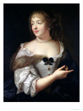Portrait of Marie De Rabutin-Chantal, Madame De Sevigne (1626-96) Giclee Print by Claude Lefebvre