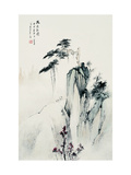 Lonely Pine Tree Giclee Print by Yongsun Huang