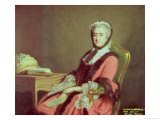 Lady Holland, 1766 Giclee Print by Allan Ramsay