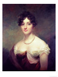 Lady Colville Giclee Print by Sir Henry Raeburn