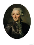 Portrait Pierre Augustin Caron De Beaumarchais (1732-99) after a Painting by Jean Baptiste Greuze Giclée-Druck von Paul Soyer