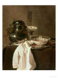 Pewter, China and Glass, 1649 Impressão giclée por Jan Jansz Treck