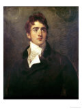 William Lamb, 2nd Viscount Melbourne (1779-1848) Giclée-tryk af Thomas Lawrence