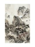 Beyond the Village Giclee Print by Yongsun Huang