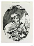 Amerigo Vespucci (1454-1512) from &quot;The Narrative and Critical History of America&quot; Giclee Print