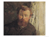Portrait of Achille Granchi Taylor, 1885 Giclee Print by Paul Gauguin