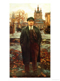 Vladimir Ilyich Lenin (1870-1924) at Smolny, circa 1925 Giclee Print by Issac Brodsky