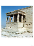Porch of the Maidens, Erechtheion, circa 421-405 BC Giclee Print