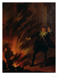 Hamlet and the Ghost of His Father Giclee Print