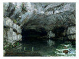 The Grotto of the Loue, 1864 Giclee Print by Gustave Courbet