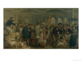Billingsgate Fish Market Giclee Print by George Elgar Hicks