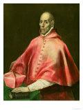 Portrait of Cardinal Juan De Tavera Giclee Print by  El Greco