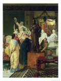 Dealer in Statues Giclee Print by Sir Lawrence Alma-Tadema