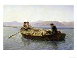 Rowing-Boat, 1863 Giclée-Premiumdruck von Rosa Bonheur