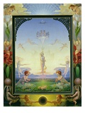 Morning, 1808 (Oil on Canvas) Giclee Print by Philipp Otto Runge