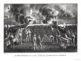Bombardment of Fort Sumter, Charleston Harbour from Fort Moultrie, 12th & 13th April 1861 Giclee Print