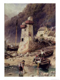 Lynmouth, Devonshire Giclee Print by Myles Birket Foster
