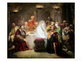 The Ghost of Banquo Giclee Print by Theodore Chasseriau