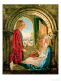 Annunciation, 1859 Giclee Print by Charlotte E. Babb
